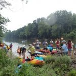 Paddling the Perkiomen in Pennsylvania
