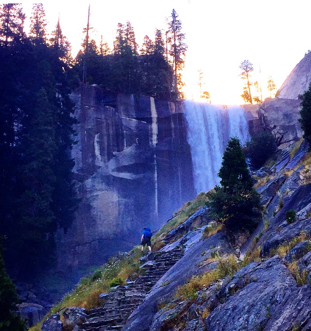 Vernal Falls from the Mist Trail