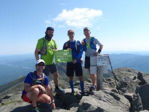 The boys on Adams' summit. | Credit: Brook Burke