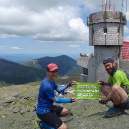 Brook and Sean on Washington's summit. | Credit: Brook Burke