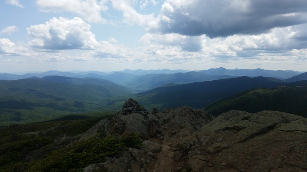 The view from the Southern Presidentials. | Credit: Sean Greaney