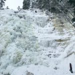 Hiking New Hampshire's Tallest Waterfall in Winter