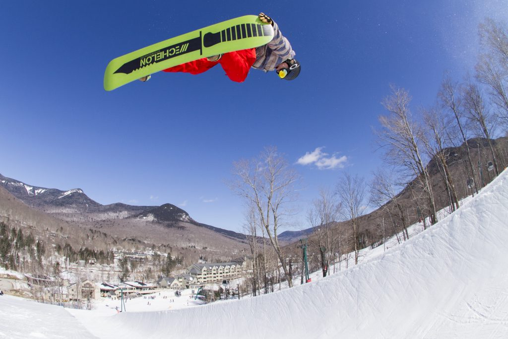 Big air in Loon's Superpipe. | Courtesy: Loon Mountain
