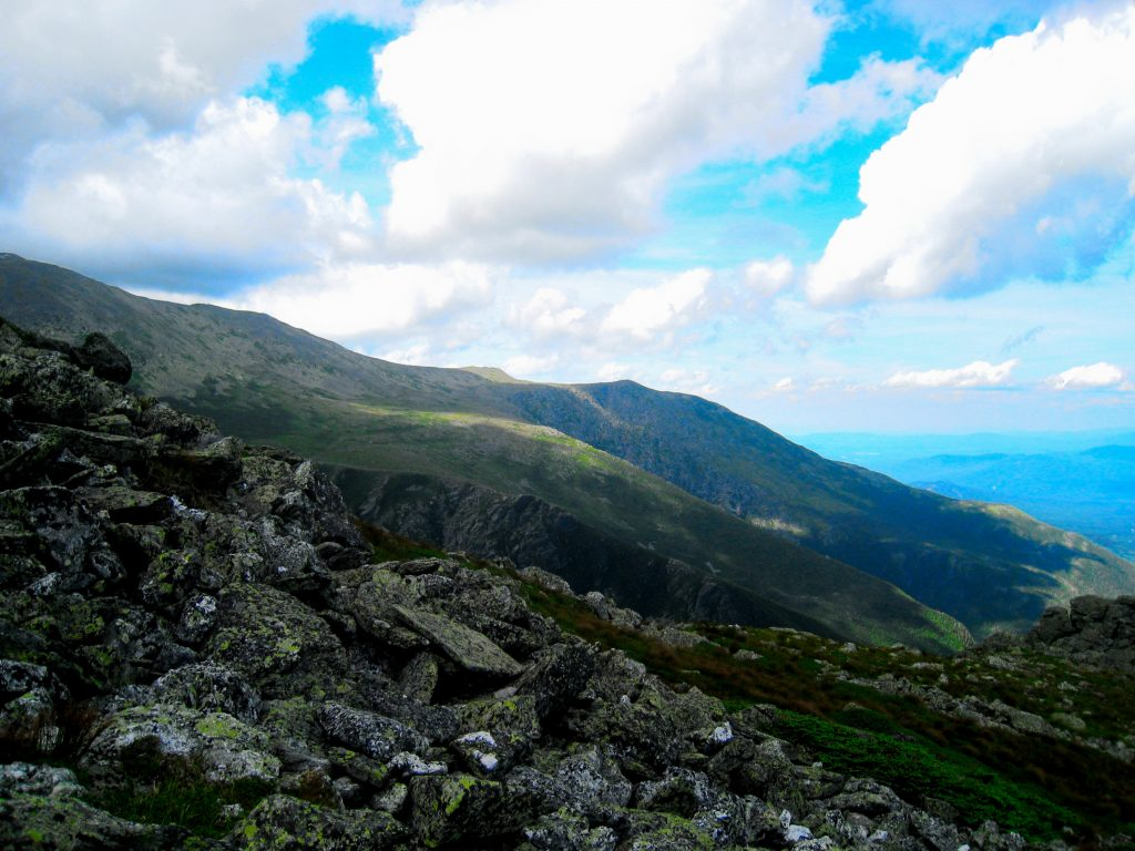 Looking North from the Bootspur trail towards Mt. Washington. | Credit: Matthew Charpentier