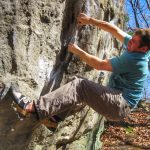 Bouldering in the Ocean State: Lincoln Woods