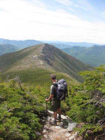 On the Bondcliff Trail.   Credit: Tim Peck