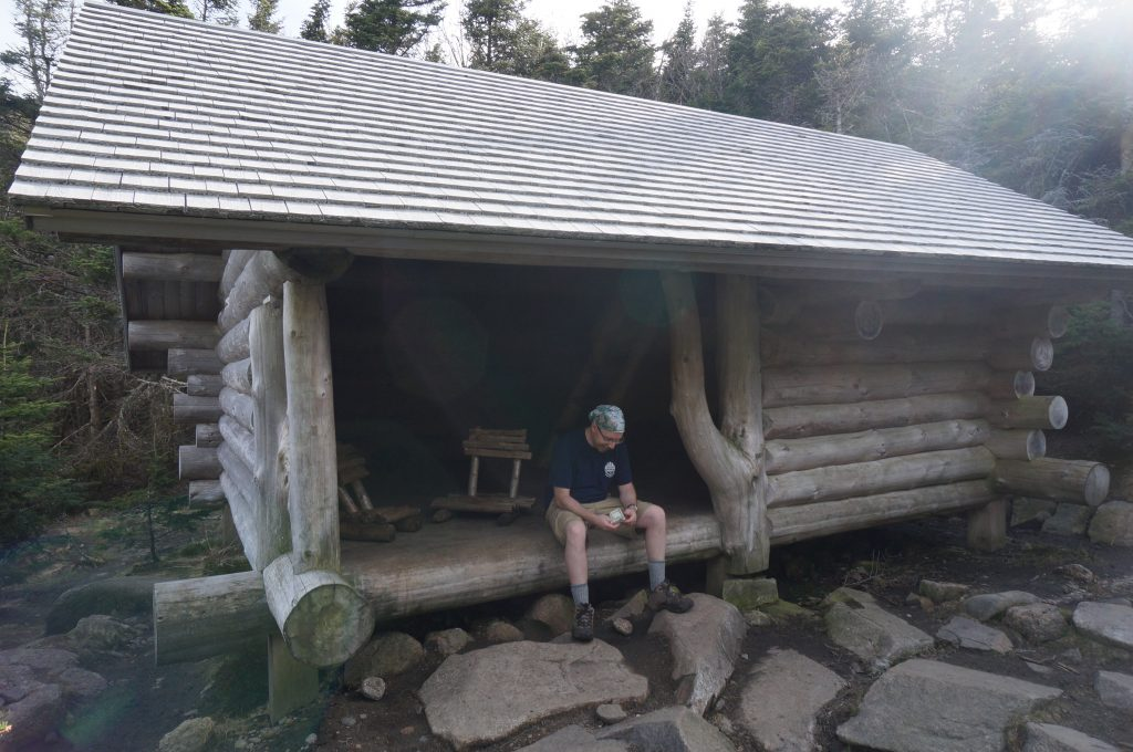 Garfield Leanto. | Credit: Tim Peck