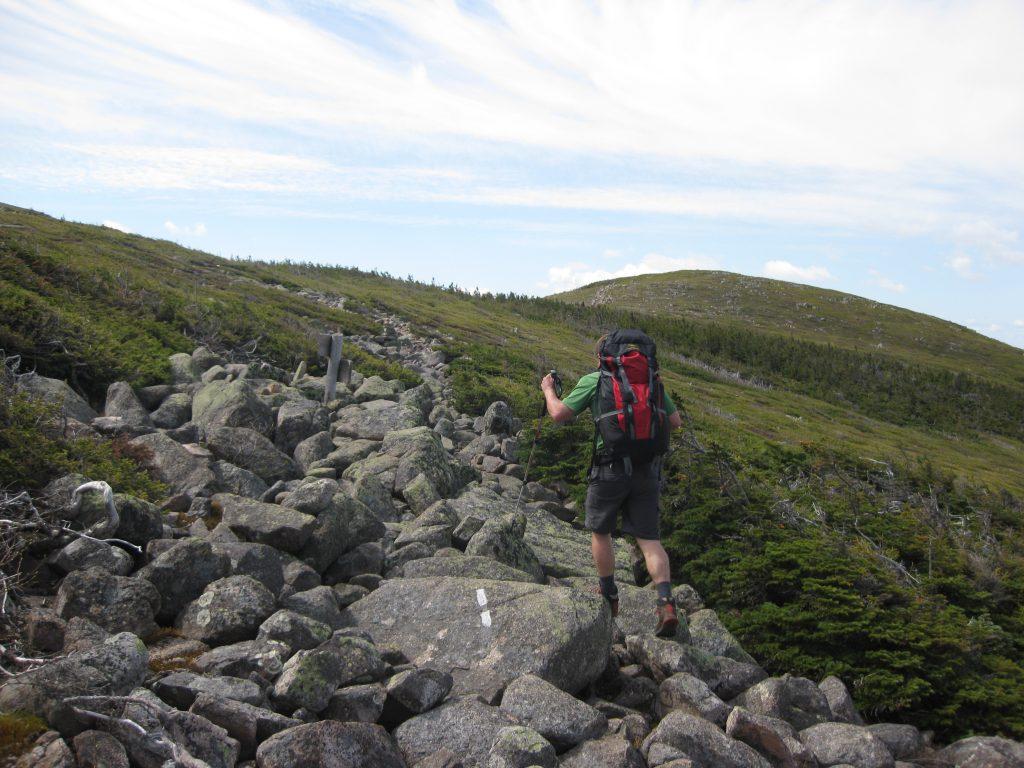 Climbing near Guyot. | Credit: Tim Peck