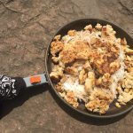 Backcountry Aspirin: Wasabi Salmon Fish Cakes with Rice Noodles
