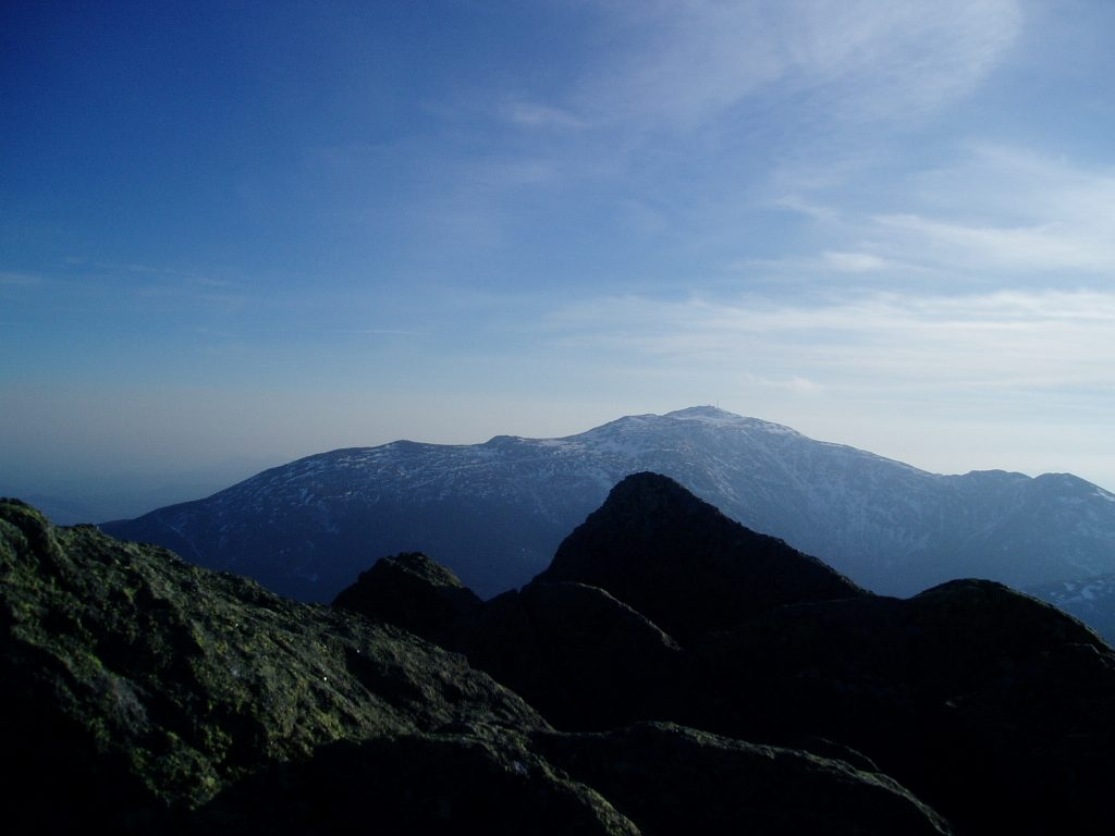 Mount Washington from Madison.   Credit: Tim Peck