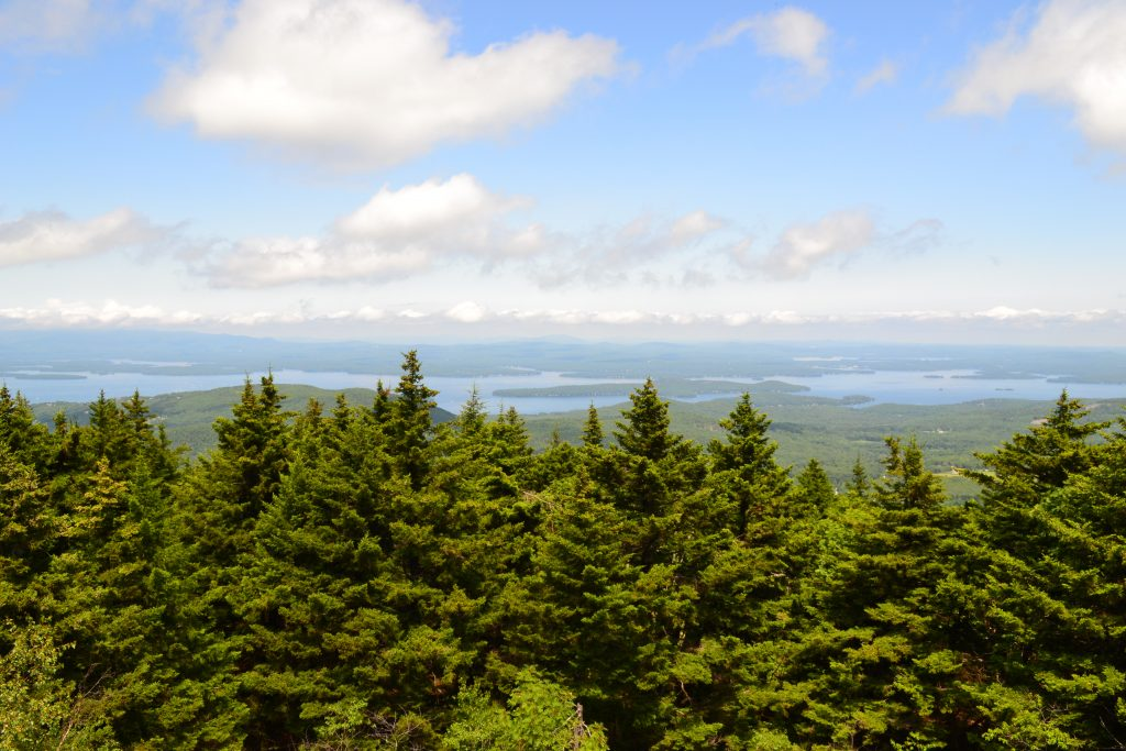 The view from the summit of Belknap Mountain. | Credit: Doug Martland