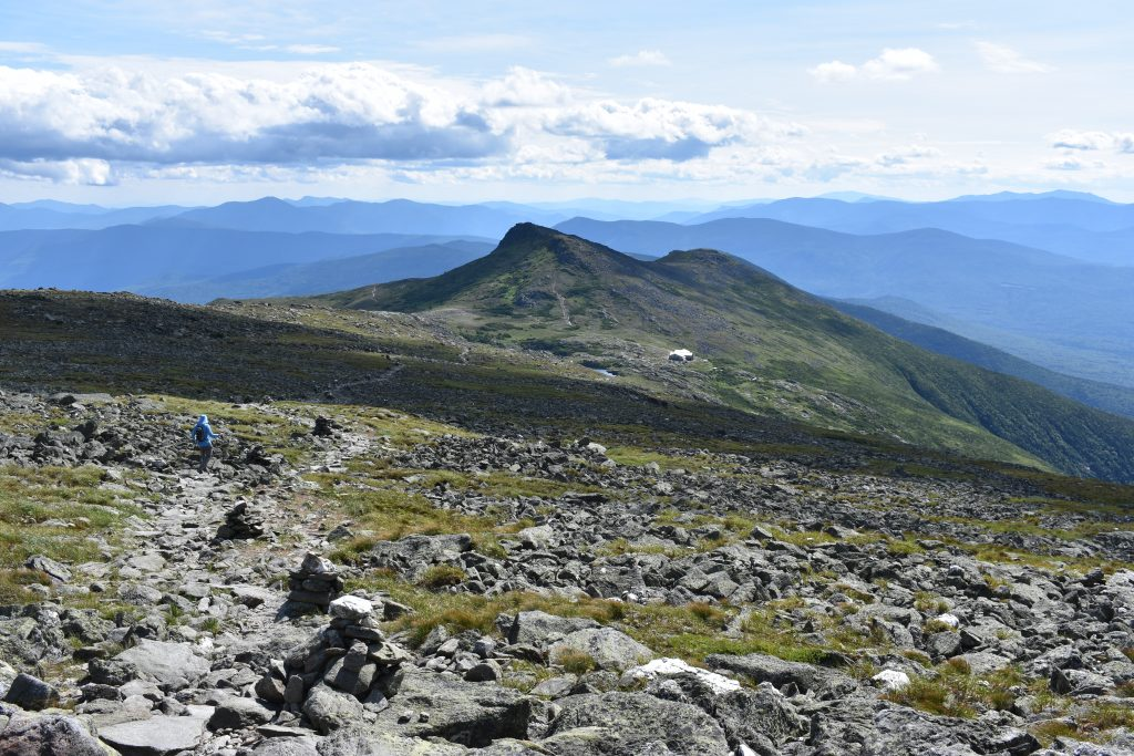 Lakes of the Clouds and Monroe while descending Mount Washington. | Credit: Tim Peck