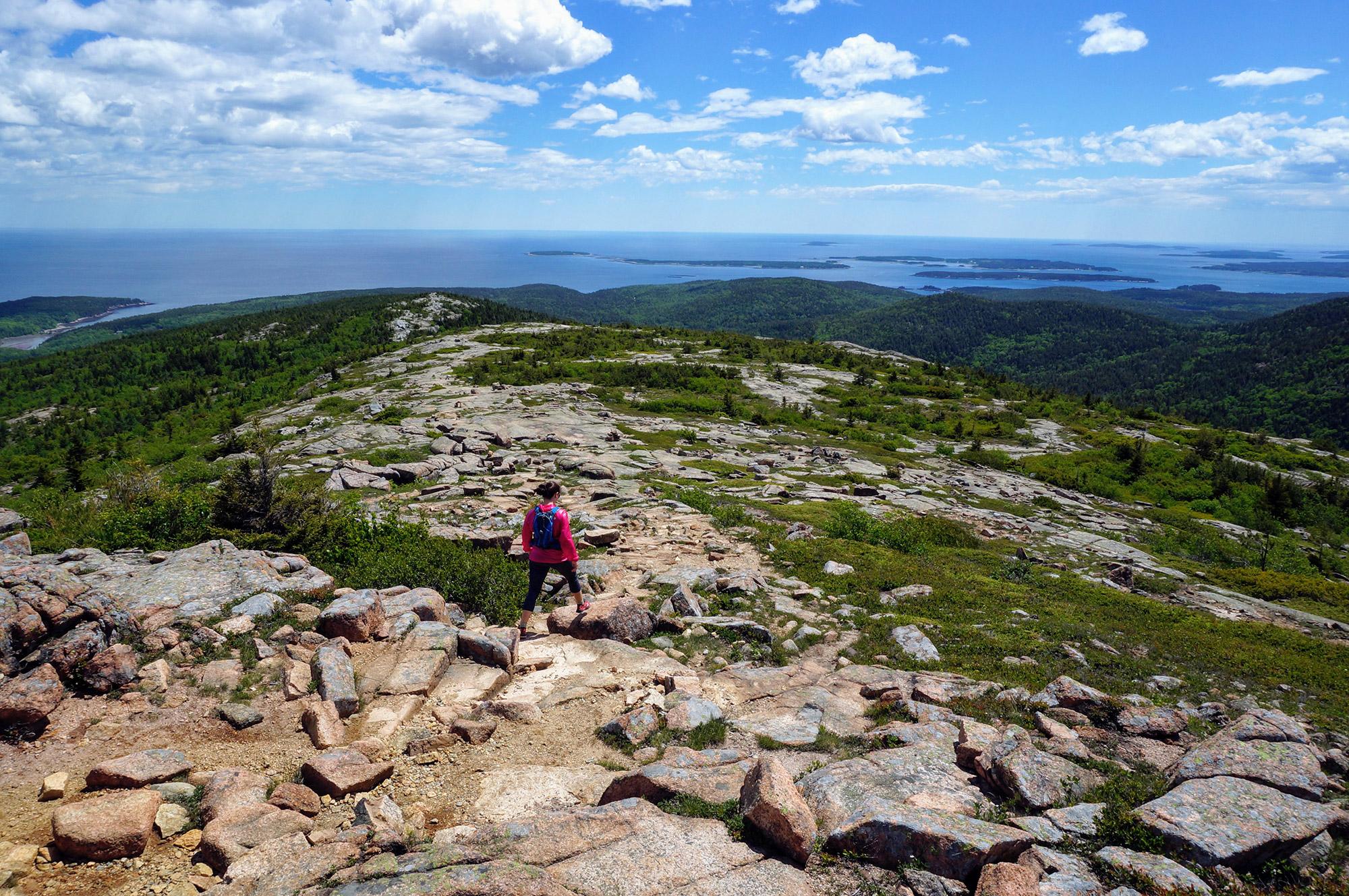 The South Ridge.   Credit: Tim Peck
