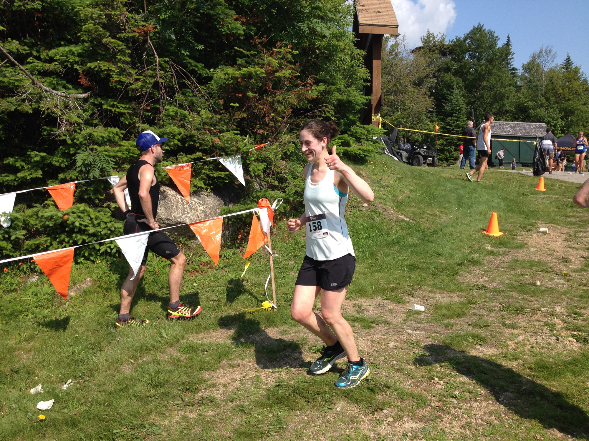 The author running the Loon Mountain Race in 2016. | Courtesy: Hannah Kokoski