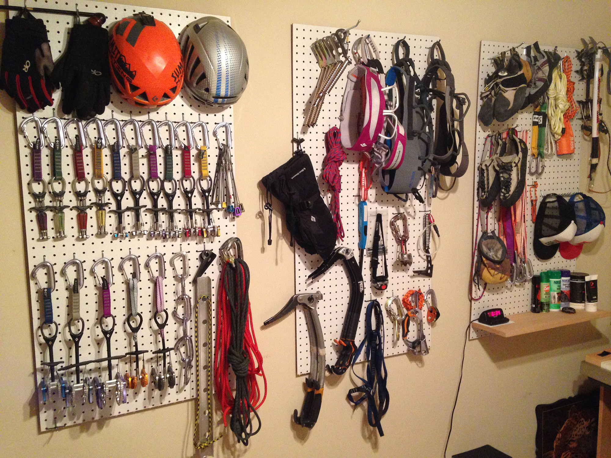 Pegboard Gear Storage Tips For Setting Up Amp Organization