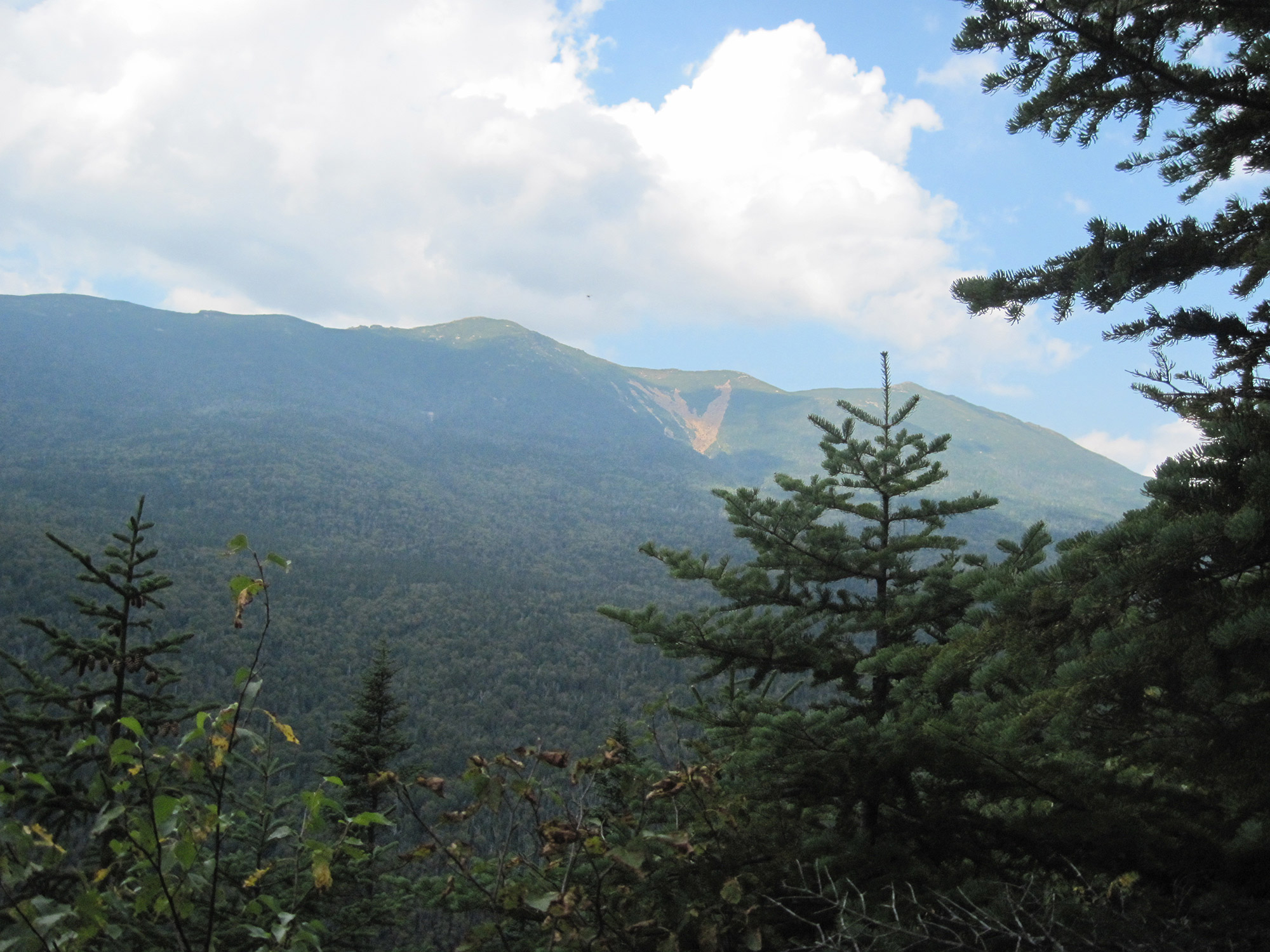 Franconia Ridge from Owl Head's slide. | Credit: Tim Peck
