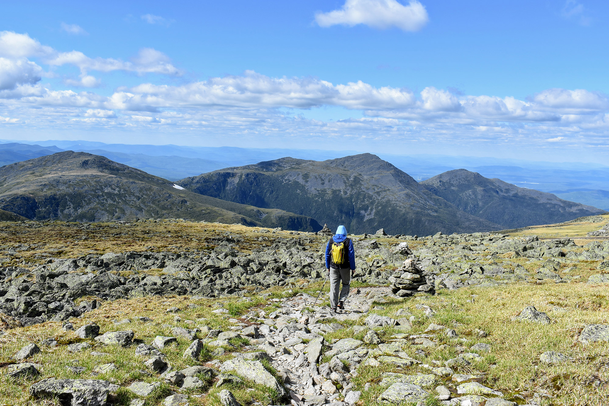 The Gulfside Trail with the Northern Presidentials. | Credit: Tim Peck