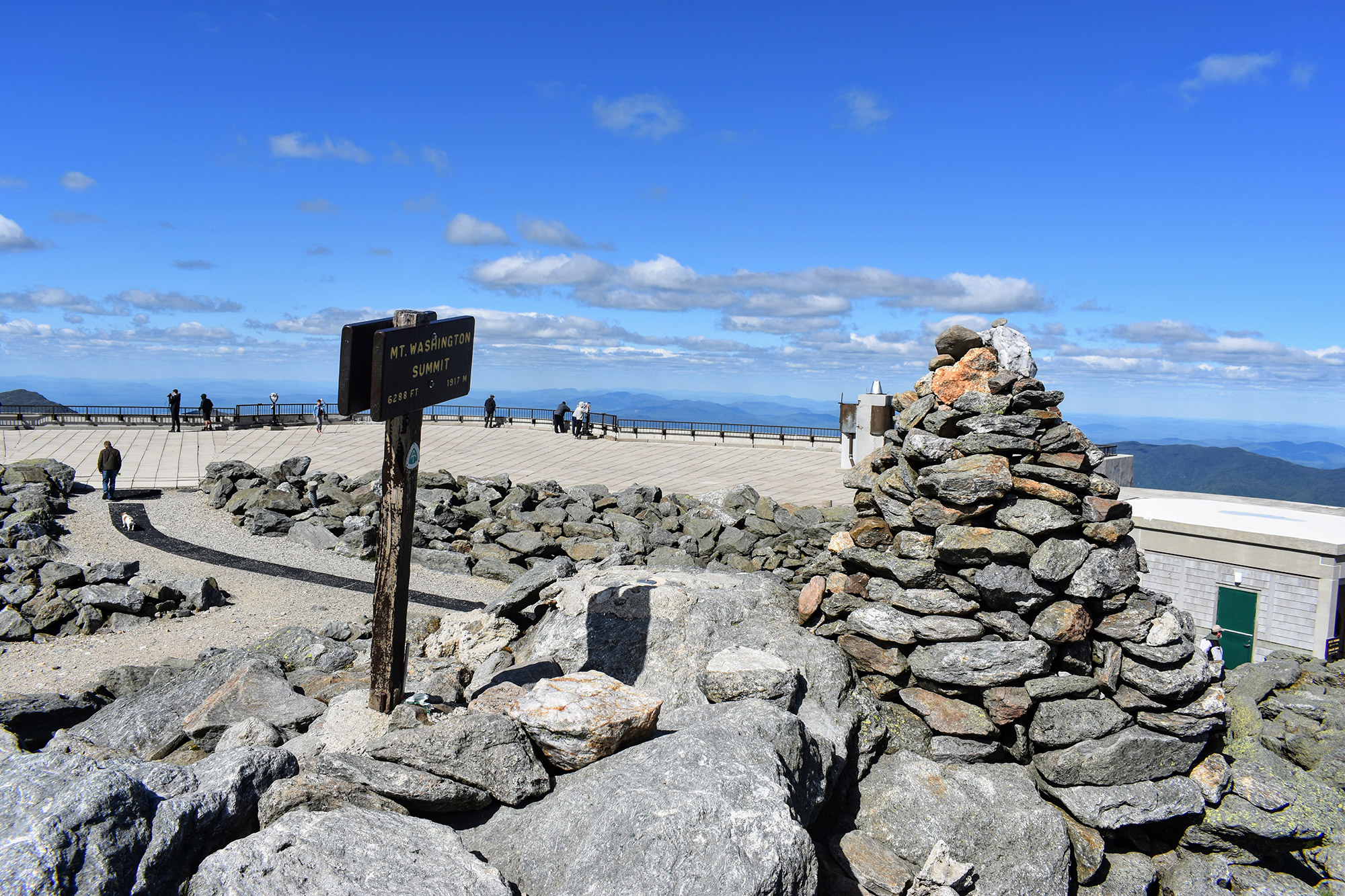 Mount Washington's Summit. | Credit: Tim Peck
