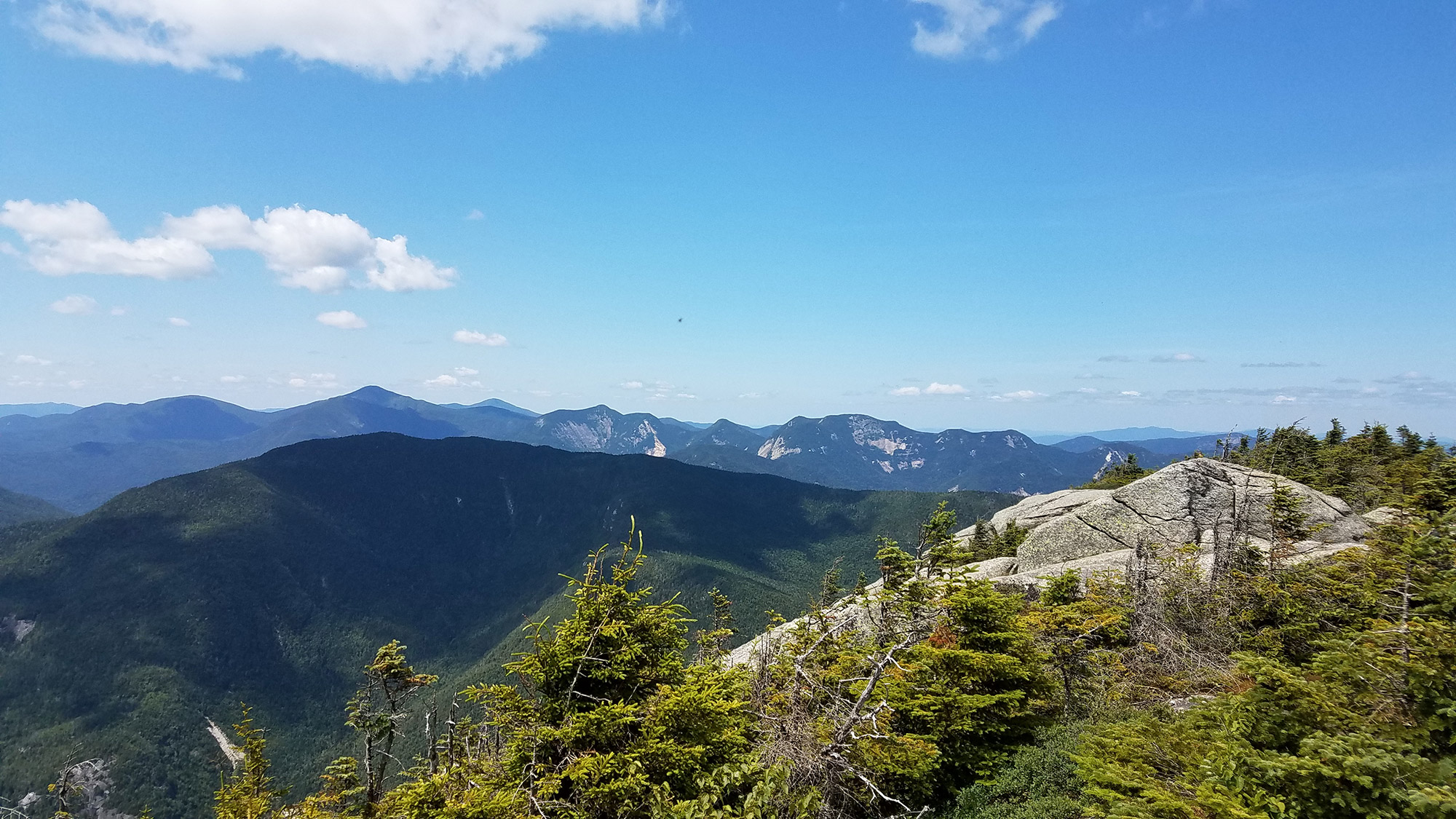 On top of Dix.   Credit: Sarah Quandt