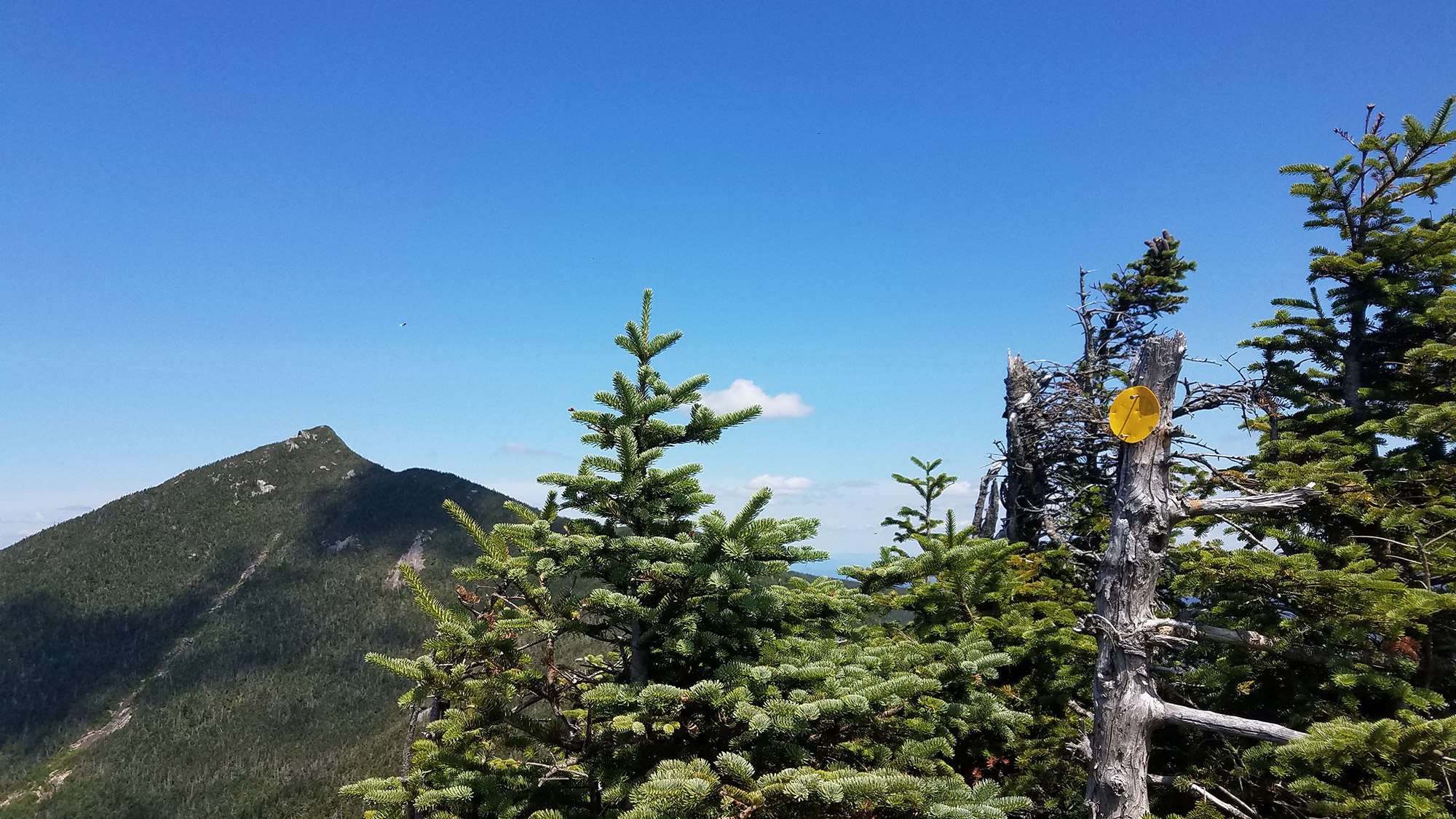 On top of Hough Peak. | Credit: Sarah Quandt