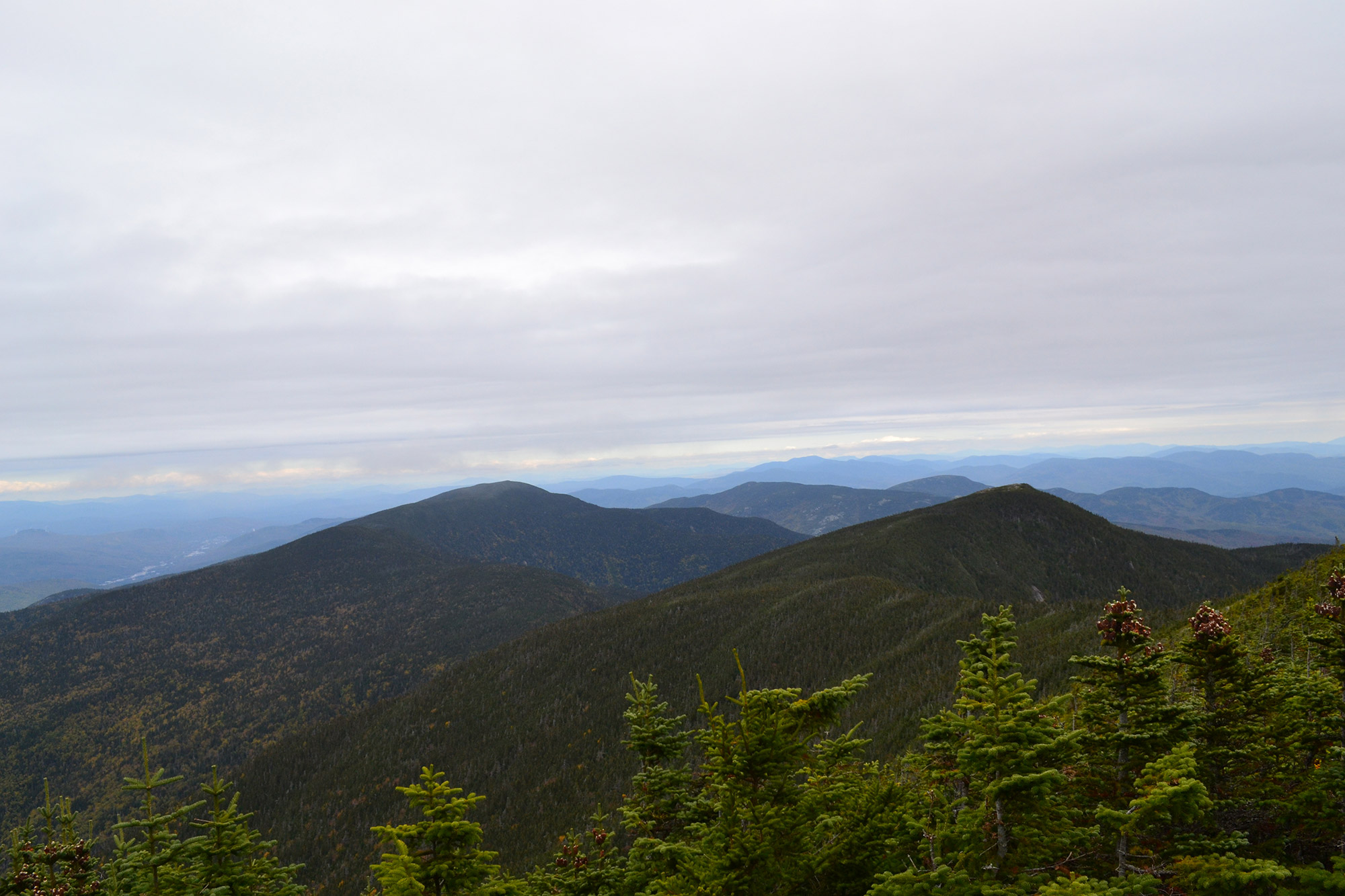 Looking back on Carter Ridge from Carter Dome.   Credit: Douglas Martland
