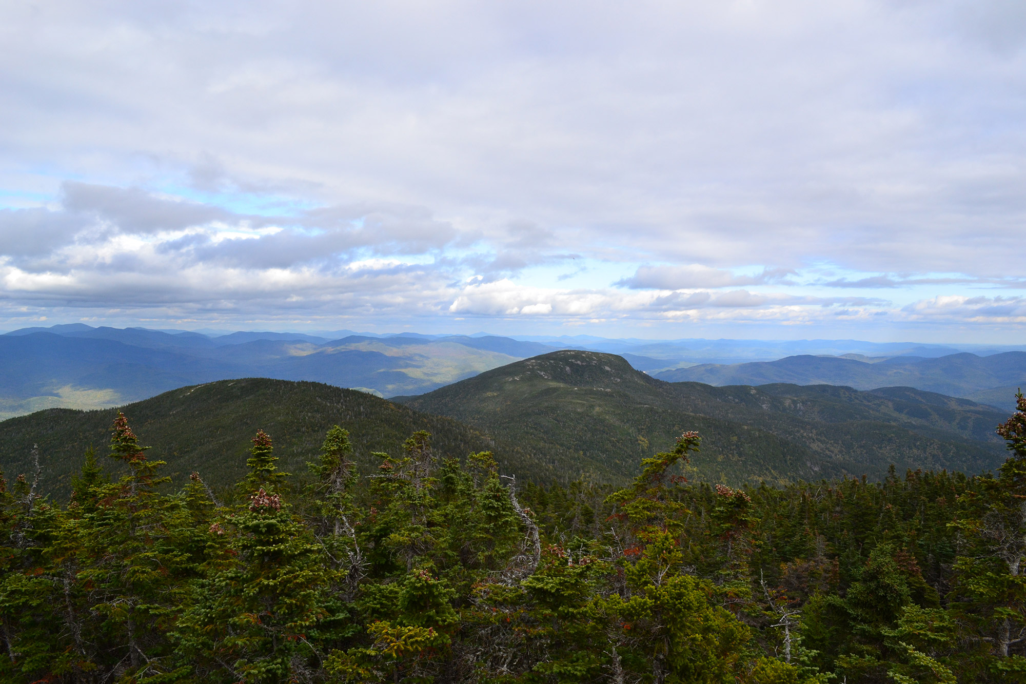 Looking northeast from an overlook near Mount Moriah's summit. | Credit: Douglas Martland