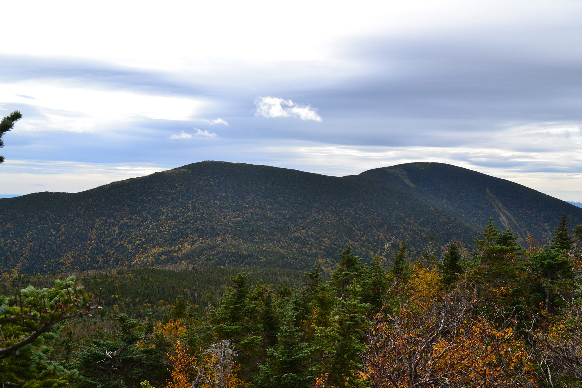 Mount Hight and Carter Dome from South Carter.   Credit: Douglas Martland