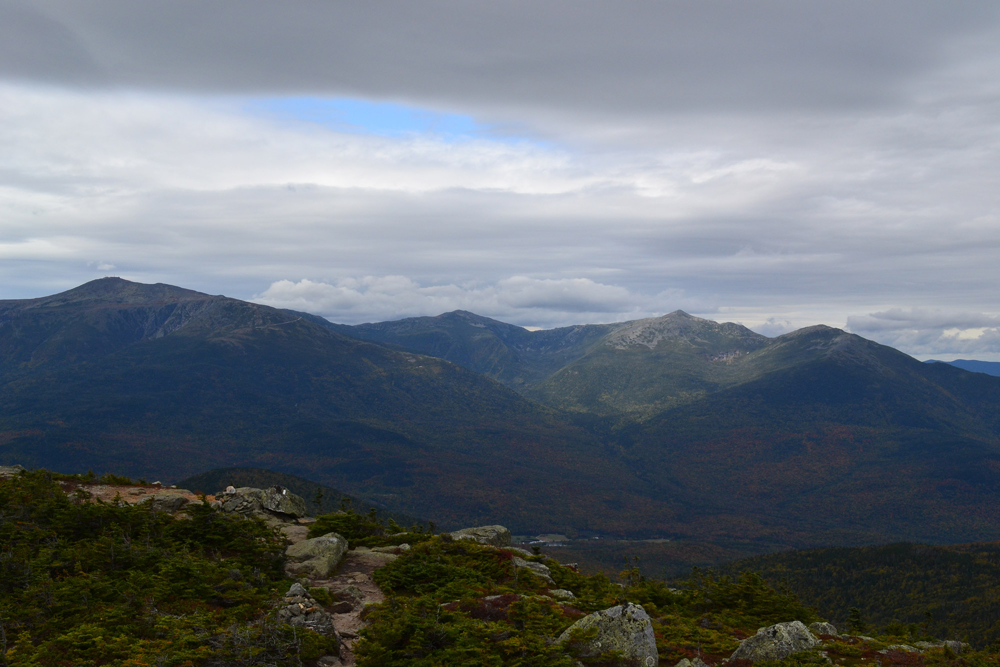 The Northern Presidential Range from Mount Hight.   Credit: Douglas Martland