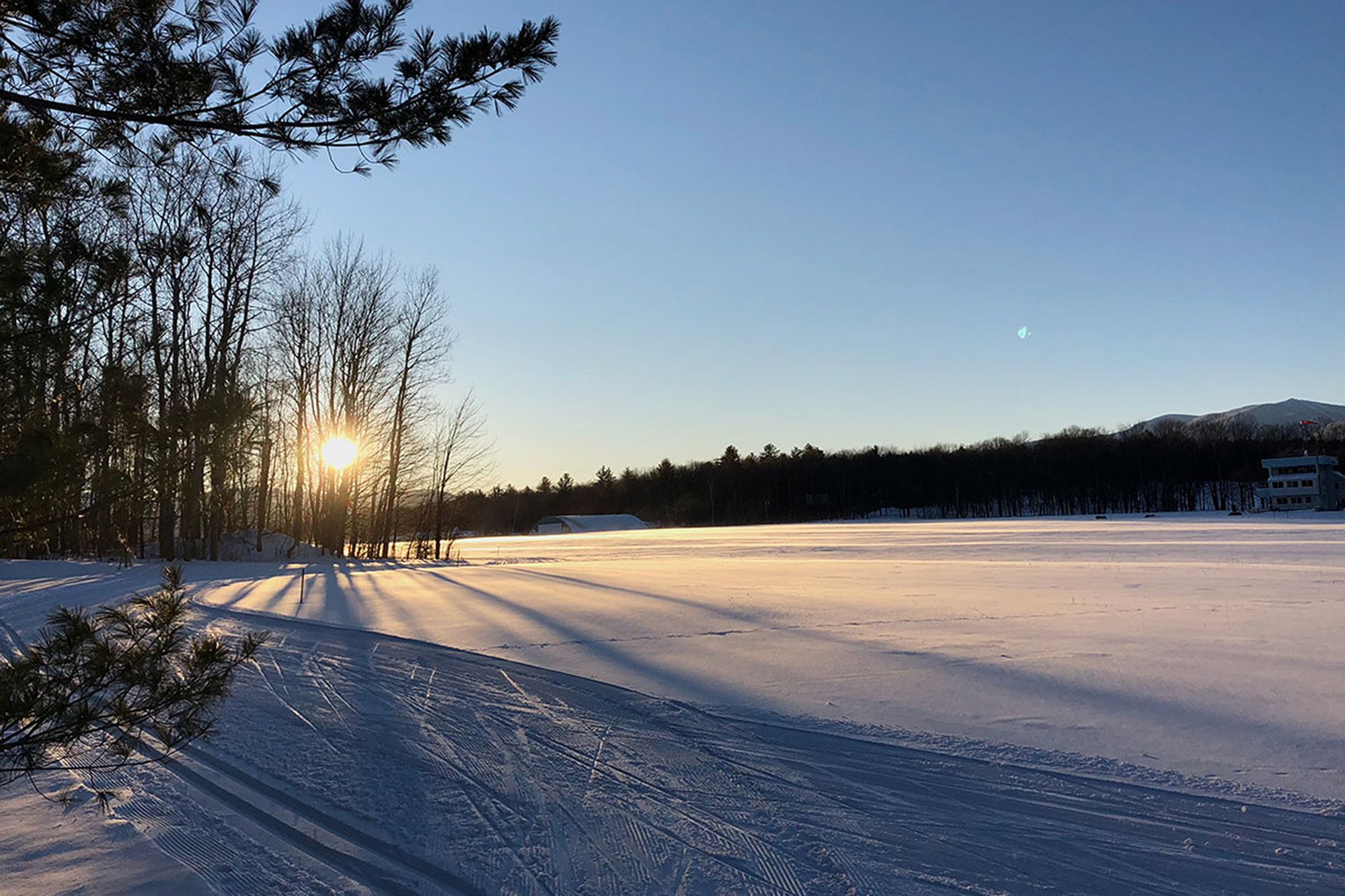Groomed trails at Ole's in Warren   Credit: Hans-Peter Riehle
