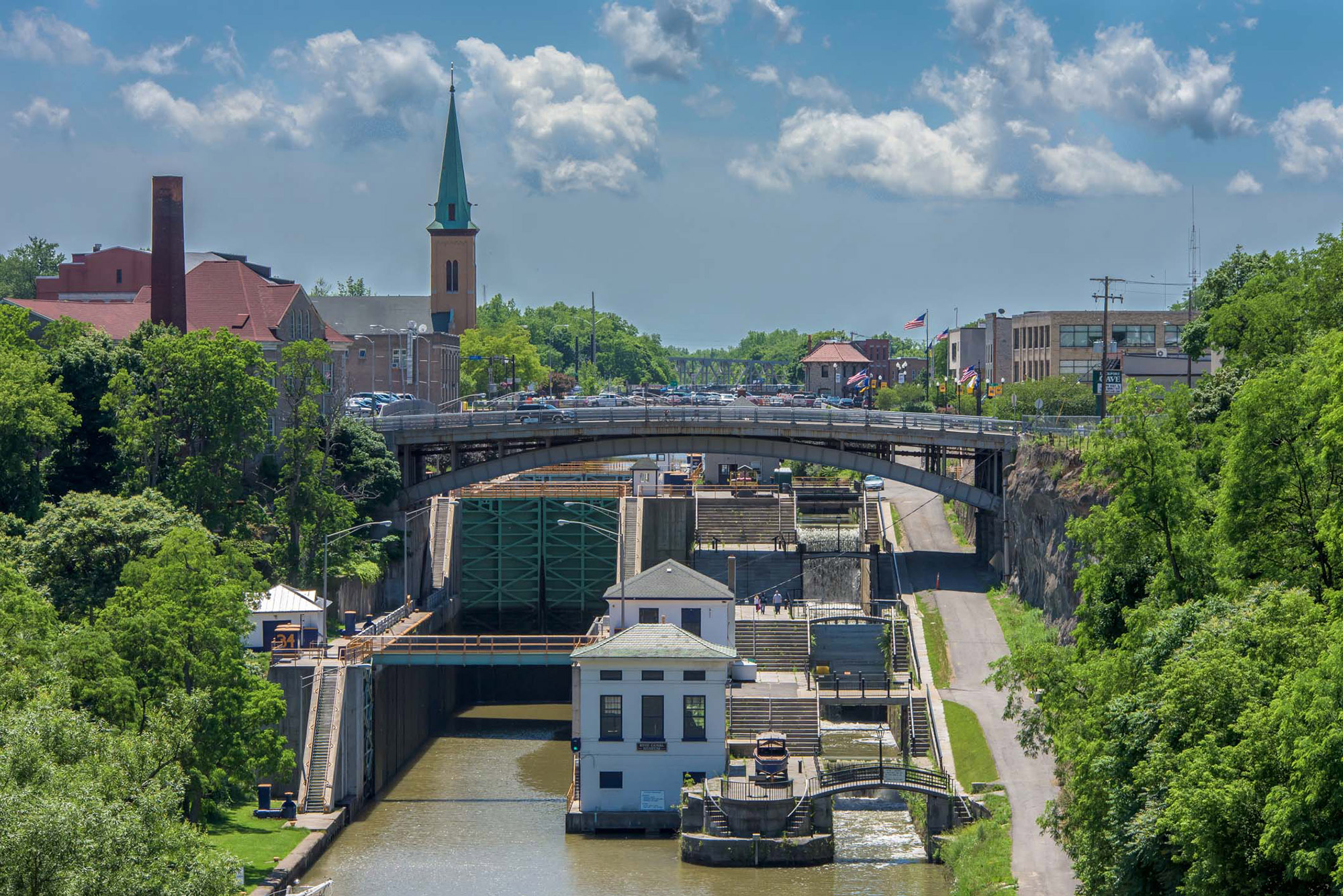 Picturesque Lockport. | Credit: Robert Dunn