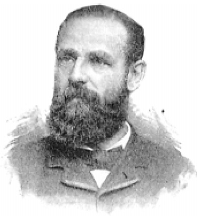 William Curtis, circa 1870