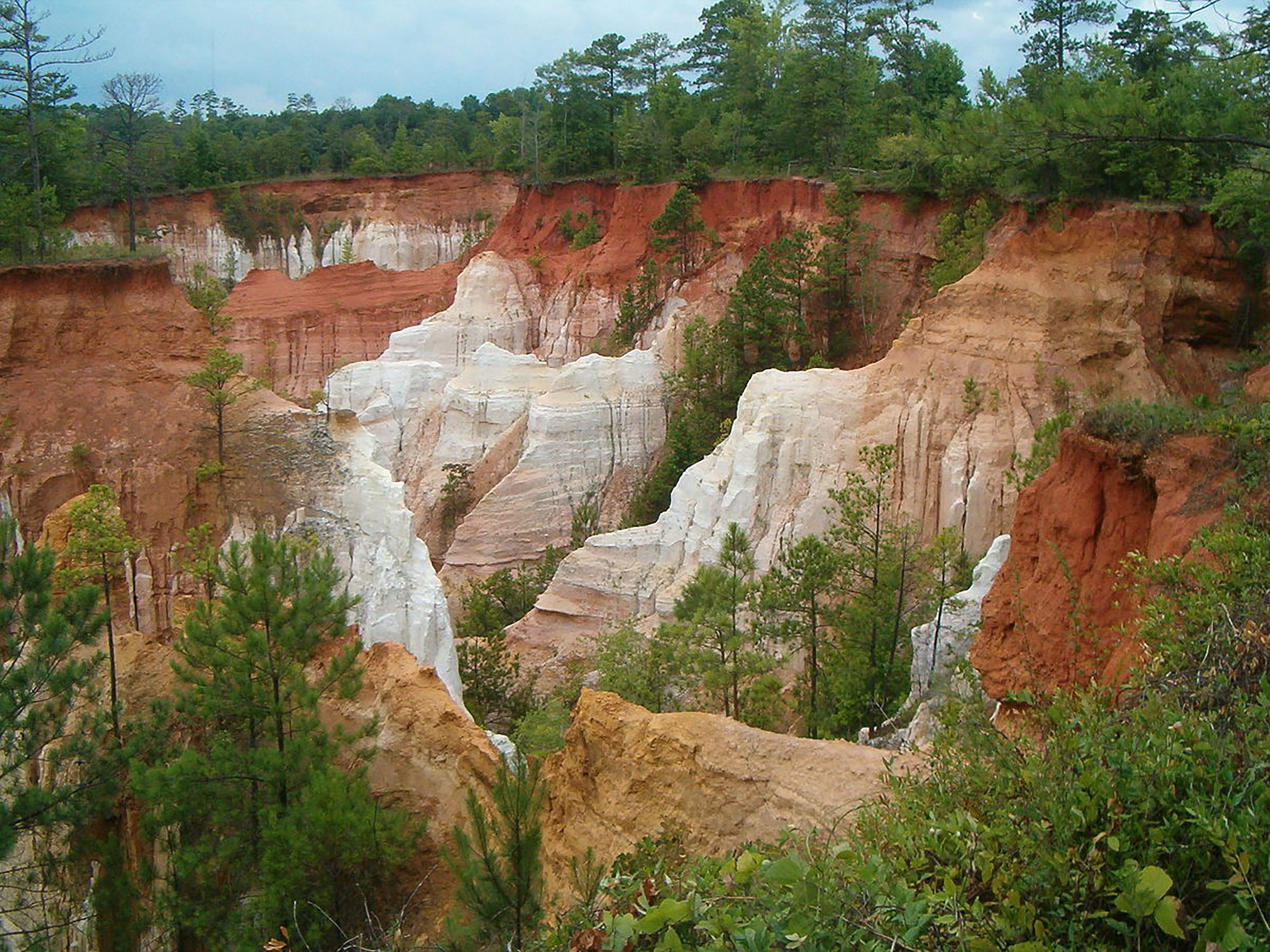Providence Canyon is a hidden gem in the state of Georgia, with just enough elevation changes and glorious scenery to make it fun for all ages.