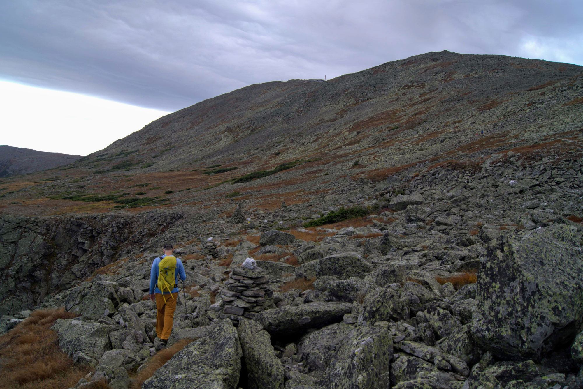 Crossing the Alpine Garden below Mount Washington. | Credit: Tim Peck