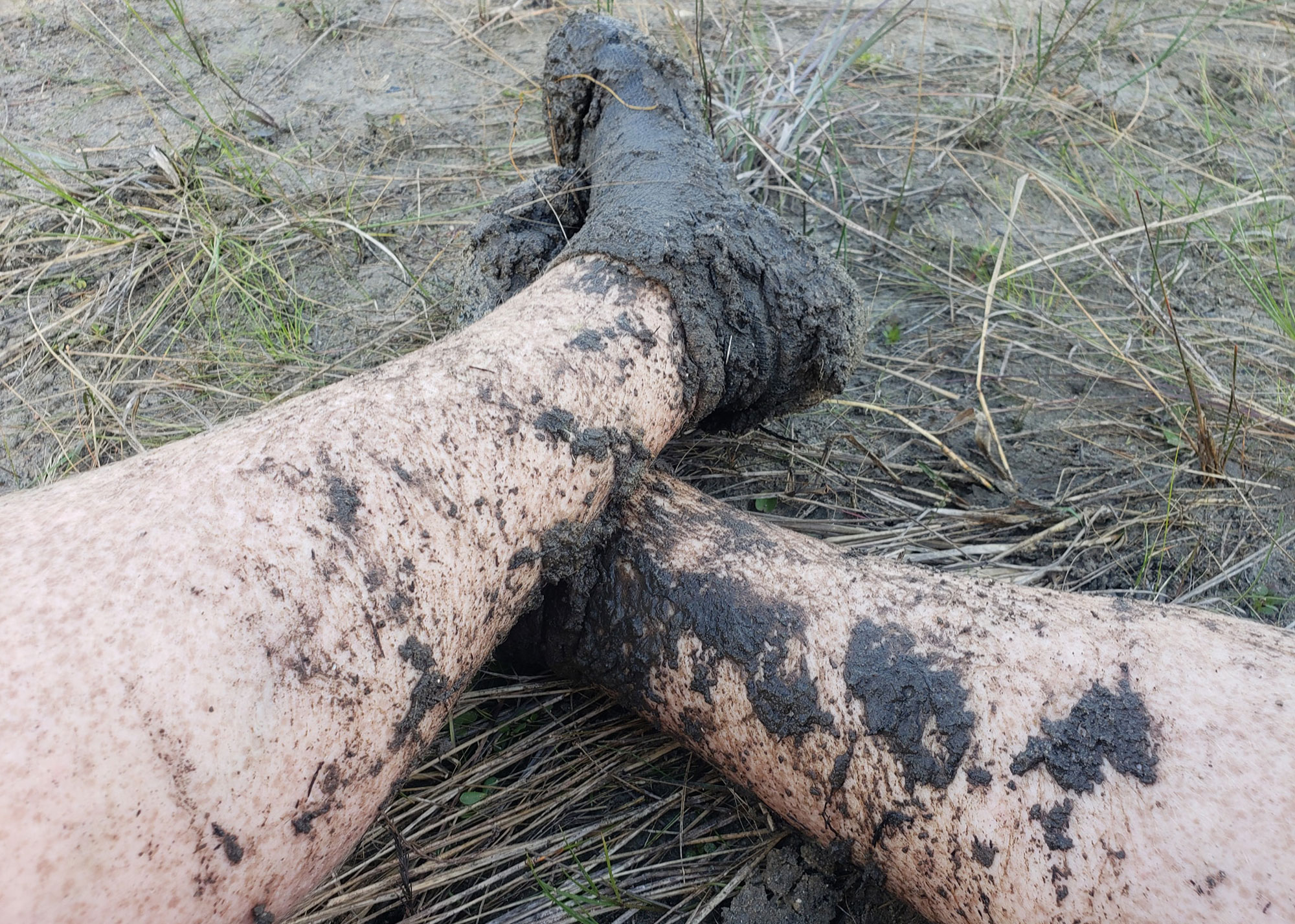 Mud season is especially challenging when trying to practice good hygiene on the trail.   Courtesy: Joe King