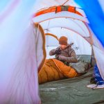 How to Stay Warm While Winter Backpacking