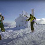 Video: Insane Steep Skiing at Tuckerman Ravine