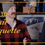 Video: Winter Hiking Trail Etiquette